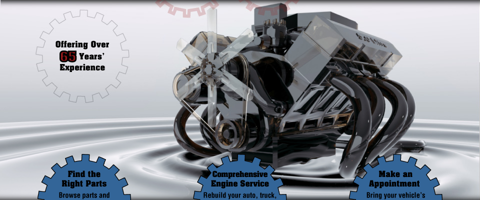 Offering Over 65 Years' Experience - engine